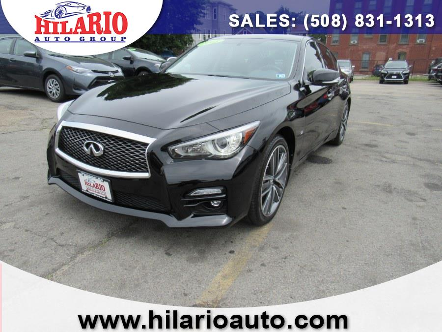 Used 2015 INFINITI Q50 in Worcester, Massachusetts | Hilario's Auto Sales Inc.. Worcester, Massachusetts