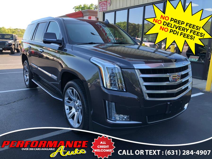 Used Cadillac Escalade 4WD 4dr Luxury Collection 2016 | Performance Auto Inc. Bohemia, New York