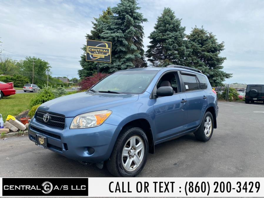 Used Toyota RAV4 4dr Base 4-cyl 4WD 2006   Central A/S LLC. East Windsor, Connecticut