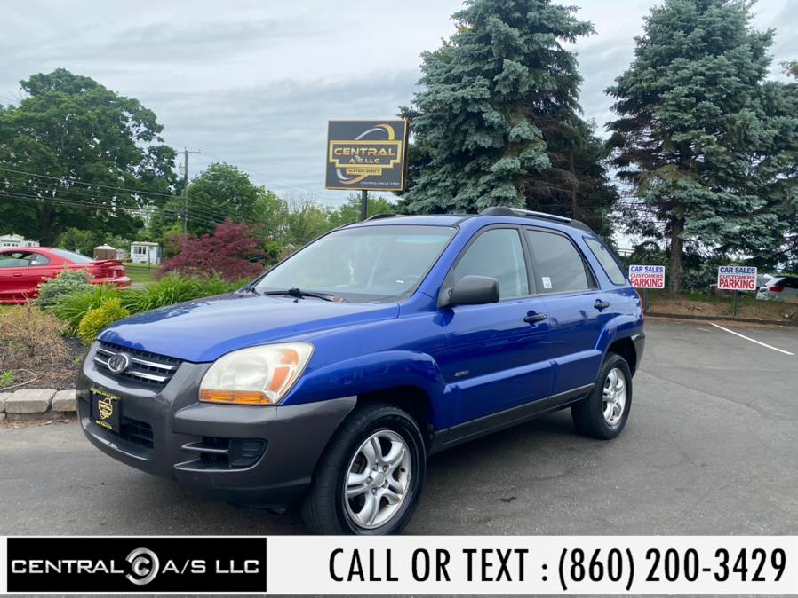 Used Kia Sportage 4dr LX 4WD V6 Auto 2005 | Central A/S LLC. East Windsor, Connecticut