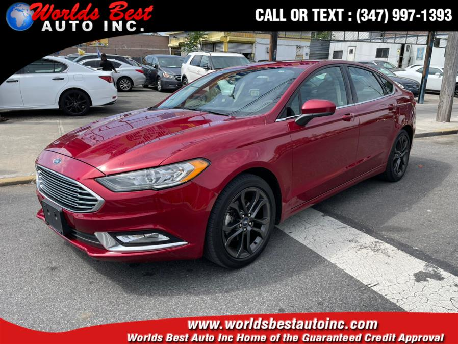 Used 2018 Ford Fusion in Brooklyn, New York