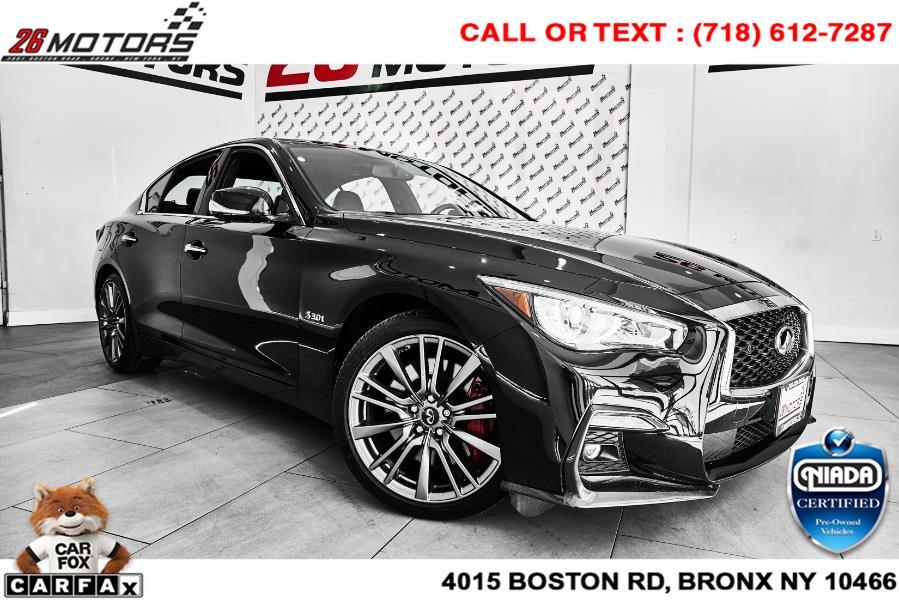 Used INFINITI Q50 RED SPORT 400 AWD 2018   26 Motors Corp. Bronx, New York