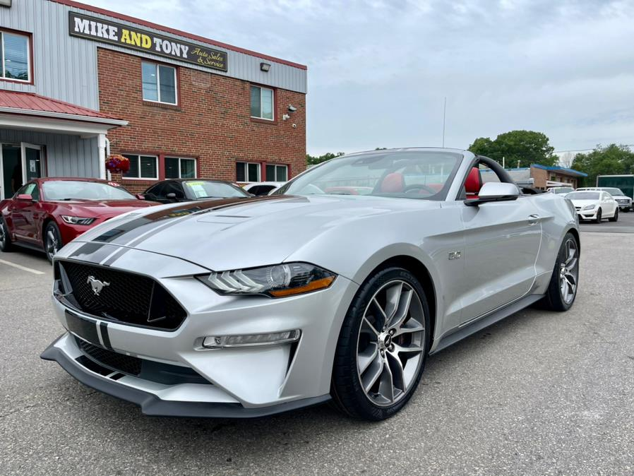 Used Ford Mustang GT Premium Convertible 2019   Mike And Tony Auto Sales, Inc. South Windsor, Connecticut