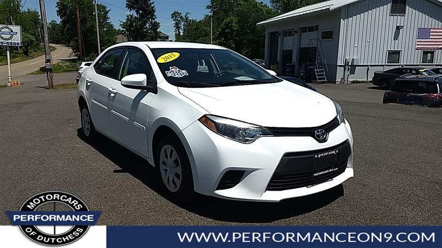 Used 2015 Toyota Corolla in Wappingers Falls, New York | Performance Motorcars Inc. Wappingers Falls, New York