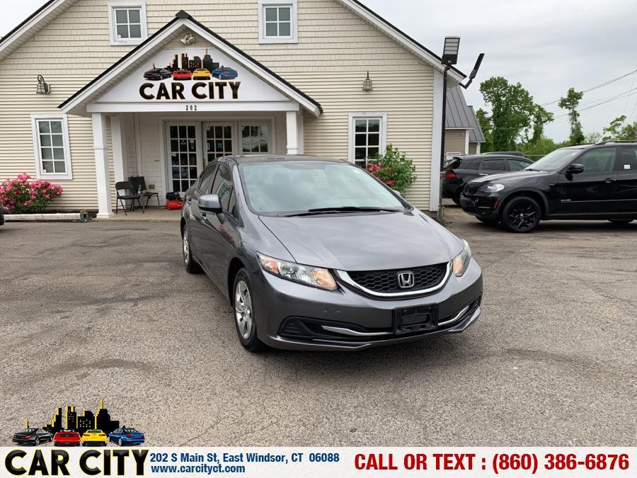 Used Honda Civic Sdn 4dr Auto LX 2013 | Car City LLC. East Windsor, Connecticut
