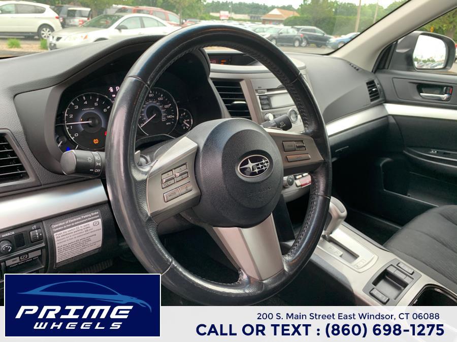 Used Subaru Outback 4dr Wgn H4 Auto 2.5i Premium All-Weather 2010   Prime Wheels. East Windsor, Connecticut