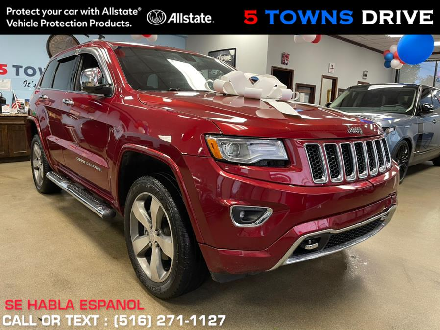 Used Jeep Grand Cherokee 4WD 4dr Overland 2014 | 5 Towns Drive. Inwood, New York