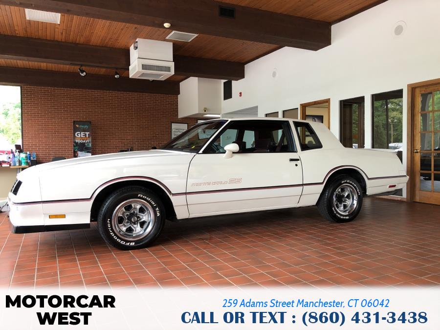 Used Chevrolet Monte Carlo 2dr Coupe Sport SS 1985 | Motorcar West. Manchester, Connecticut