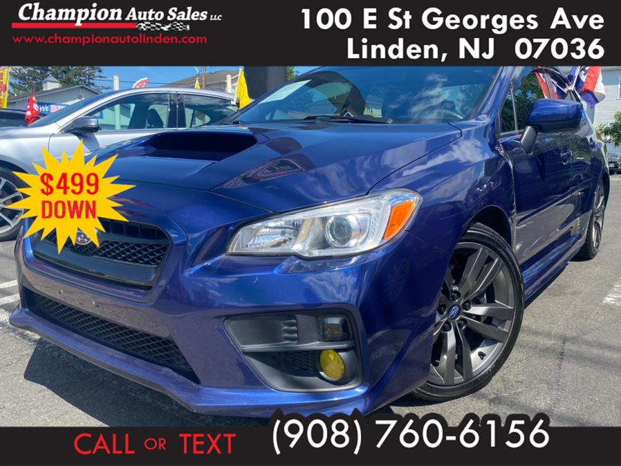 Used 2017 Subaru WRX in Linden, New Jersey | Champion Auto Sales. Linden, New Jersey