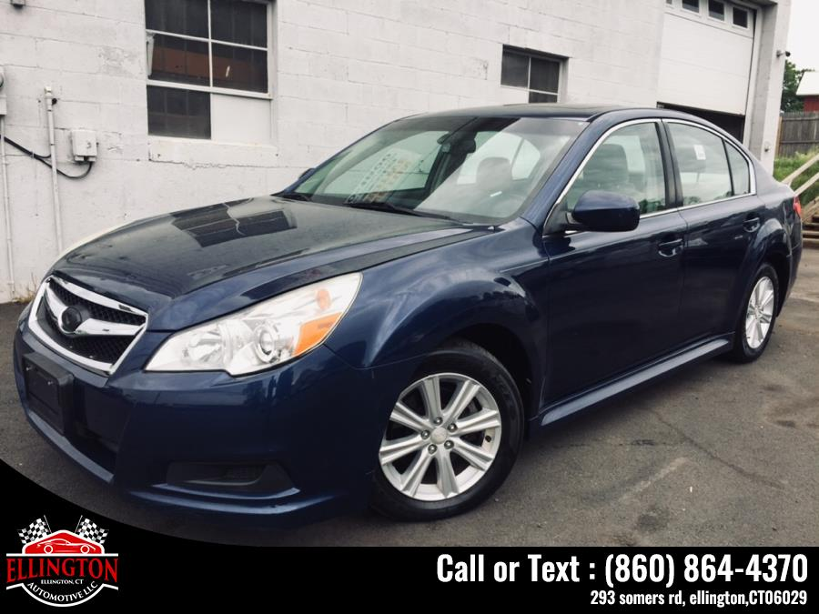 Used 2011 Subaru Legacy 4dr Sdn H4 Auto 2.5i Prem AWP/Pwr Moon Subaru Used 2011 Subaru Legacy 4dr Sdn H4 Auto 2.5i Prem AWP/Pwr Moon for sale in Ellington, CT Out of stock
