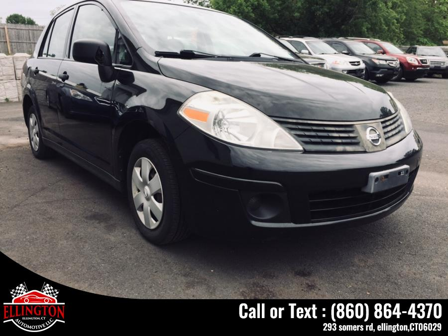 Used 2009 Nissan Versa 4dr Sdn I4 Man 1.6 Base Nissan Used 2009 Nissan Versa 4dr Sdn I4 Man 1.6 Base for sale in Ellington, CT In stock