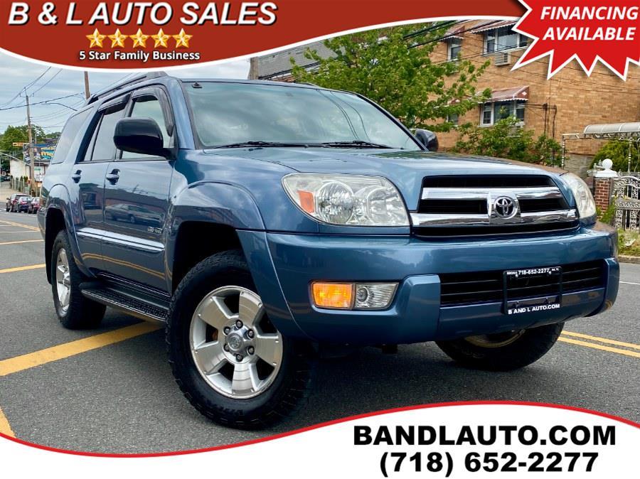 Used 2005 Toyota 4Runner in Bronx, New York | B & L Auto Sales LLC. Bronx, New York