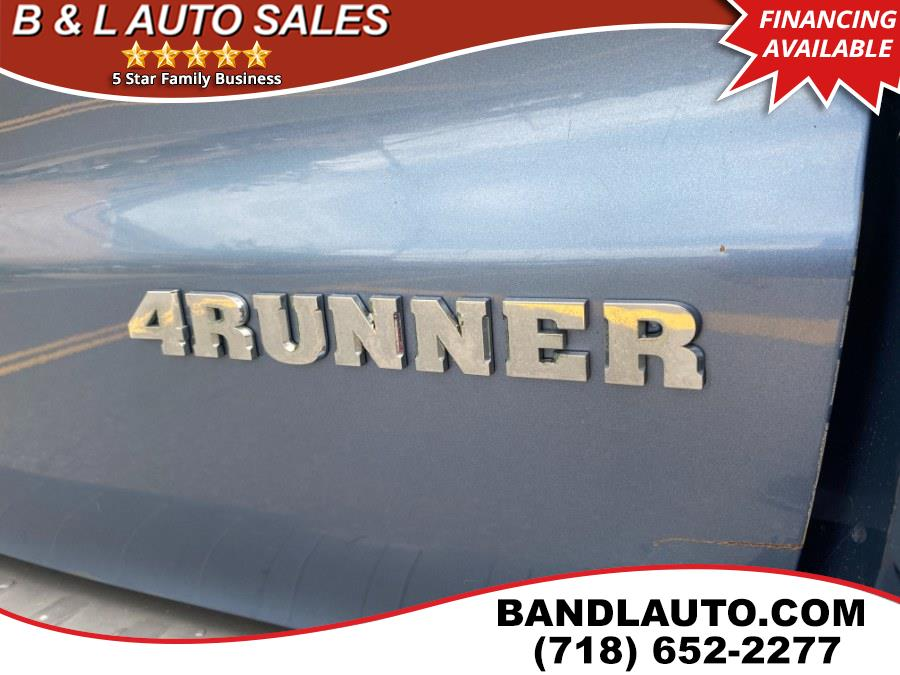 Used Toyota 4Runner 4dr SR5 V6 Auto 4WD 2005 | B & L Auto Sales LLC. Bronx, New York