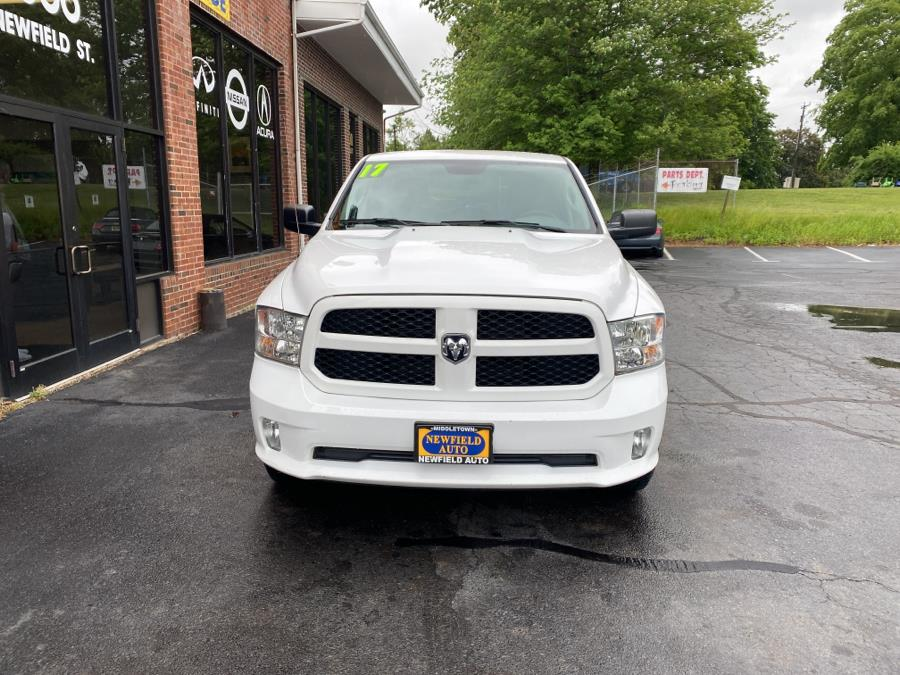 """Used Ram 1500 Express 4x4 Quad Cab 6''4"""" Box 2017   Newfield Auto Sales. Middletown, Connecticut"""