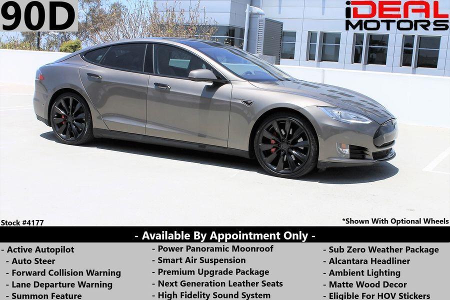 Used Tesla Model s 90D Sedan 4D 2015 | Ideal Motors. Costa Mesa, California