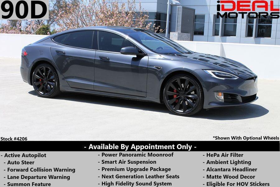 Used Tesla Model s 90D Sedan 4D 2016 | Ideal Motors. Costa Mesa, California