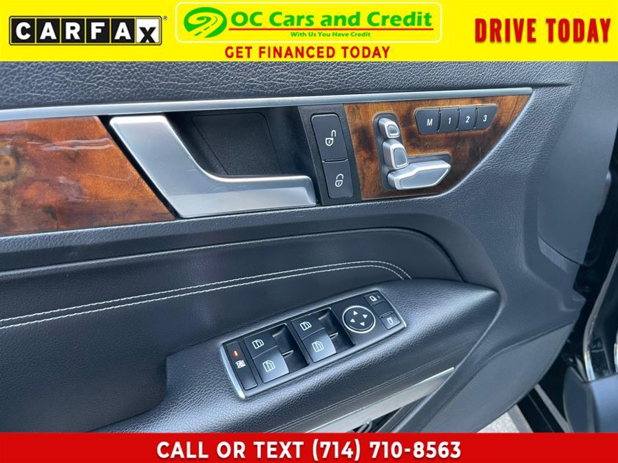 Used Mercedes-Benz E-Class AMG 2dr Cpe E350 RWD 2014 | OC Cars and Credit. Garden Grove, California