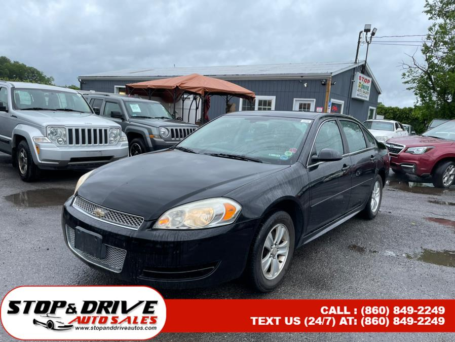 Used 2012 Chevrolet Impala in East Windsor, Connecticut   Stop & Drive Auto Sales. East Windsor, Connecticut