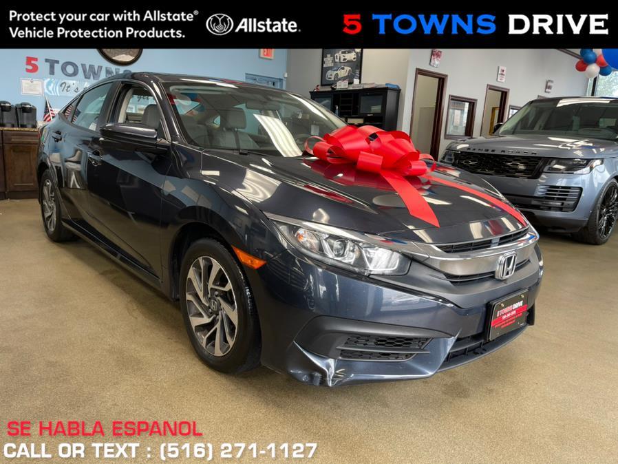 Used Honda Civic Sedan EX CVT 2018 | 5 Towns Drive. Inwood, New York