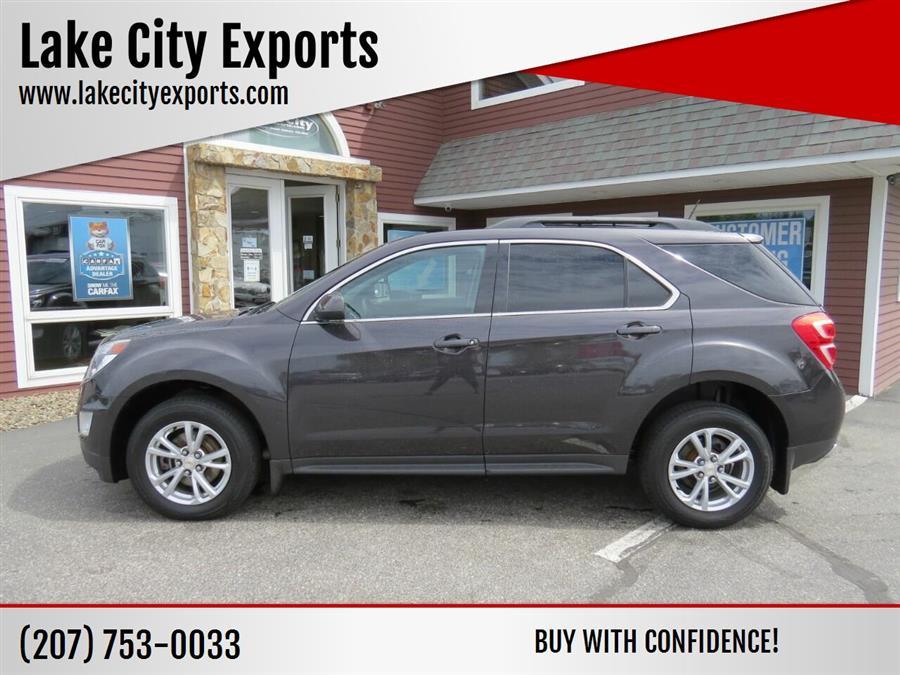 Used Chevrolet Equinox LT AWD 4dr SUV 2016   Lake City Exports Inc. Auburn, Maine
