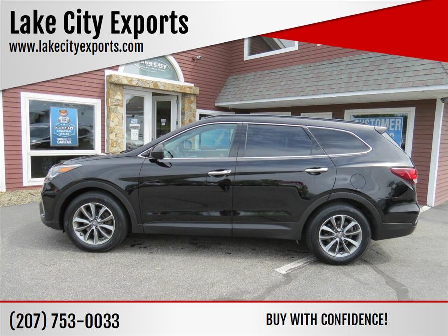 Used Hyundai Santa Fe SE AWD 4dr SUV 2017   Lake City Exports Inc. Auburn, Maine