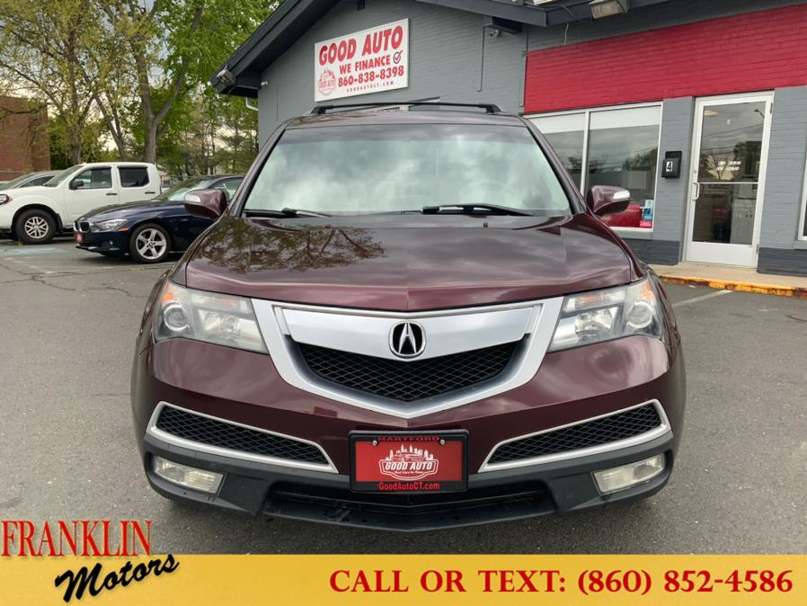 Used 2010 Acura MDX in Hartford, Connecticut | Franklin Motors Auto Sales LLC. Hartford, Connecticut
