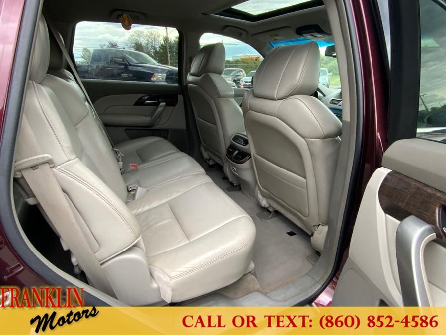 Used Acura MDX AWD 4dr Technology Pkg 2010 | Franklin Motors Auto Sales LLC. Hartford, Connecticut