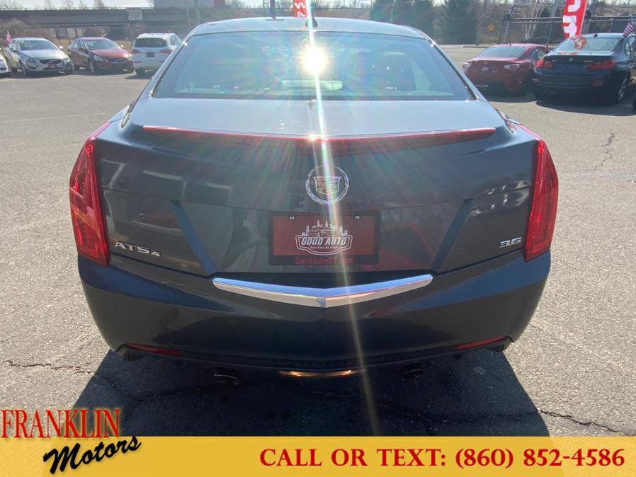 Used Cadillac ATS 4dr Sdn 3.6L Premium AWD 2013   Franklin Motors Auto Sales LLC. Hartford, Connecticut