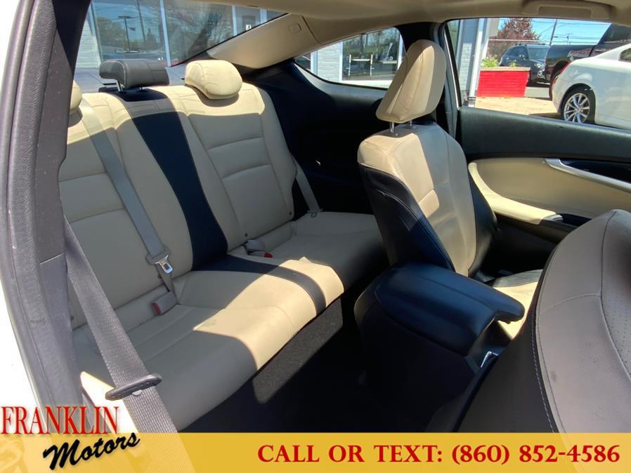 Used Honda Accord Coupe 2dr V6 Auto EX-L w/Navi 2015 | Franklin Motors Auto Sales LLC. Hartford, Connecticut