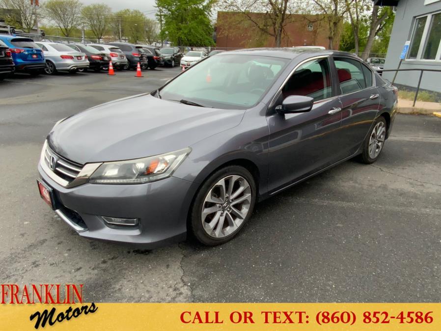 Used Honda Accord Sdn 4dr I4 CVT Sport 2013 | Franklin Motors Auto Sales LLC. Hartford, Connecticut