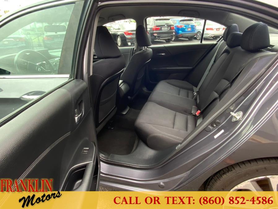Used Honda Accord Sdn 4dr I4 CVT Sport 2013   Franklin Motors Auto Sales LLC. Hartford, Connecticut