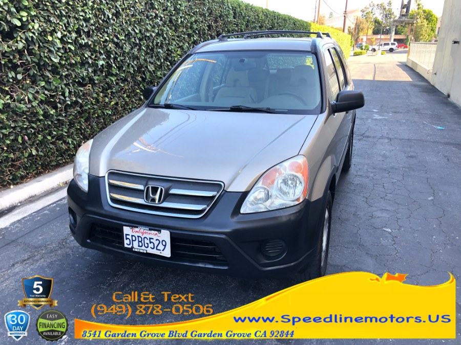 Used Honda CR-V 2WD LX AT 2005 | Speedline Motors. Garden Grove, California