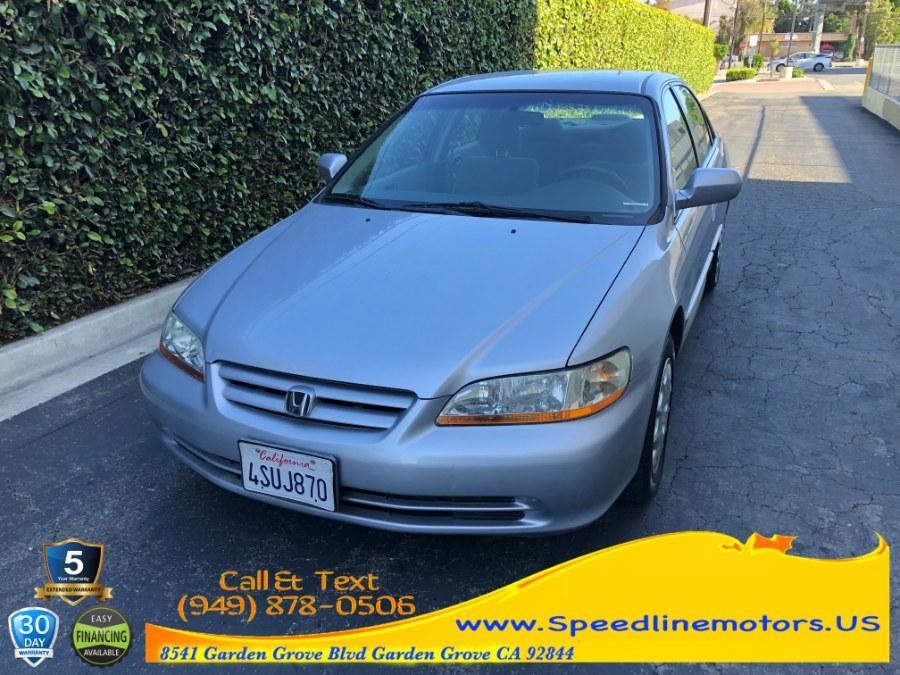 Used 2001 Honda Accord Sdn in Garden Grove, California   Speedline Motors. Garden Grove, California