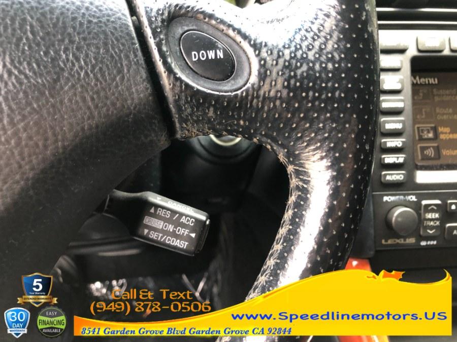 Used Lexus GS 300 4dr Sdn 2002 | Speedline Motors. Garden Grove, California