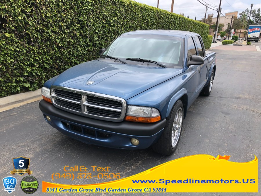 "Used Dodge Dakota 4dr Quad Cab 131"" WB Sport 2004 | Speedline Motors. Garden Grove, California"