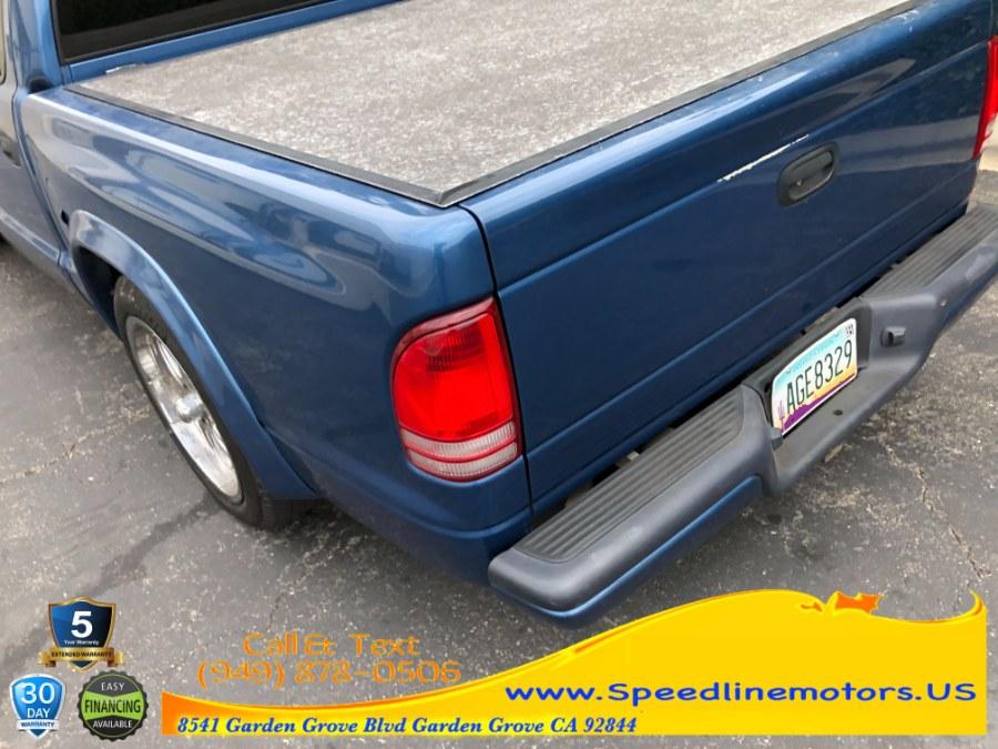 "Used Dodge Dakota 4dr Quad Cab 131"" WB Sport 2004   Speedline Motors. Garden Grove, California"