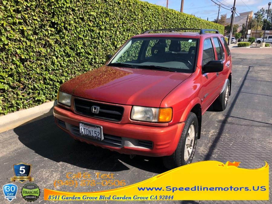 Used 1999 Honda Passport in Garden Grove, California   Speedline Motors. Garden Grove, California