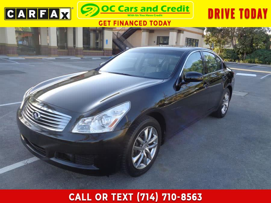 Used 2007 Infiniti G35 in Garden Grove, California | OC Cars and Credit. Garden Grove, California