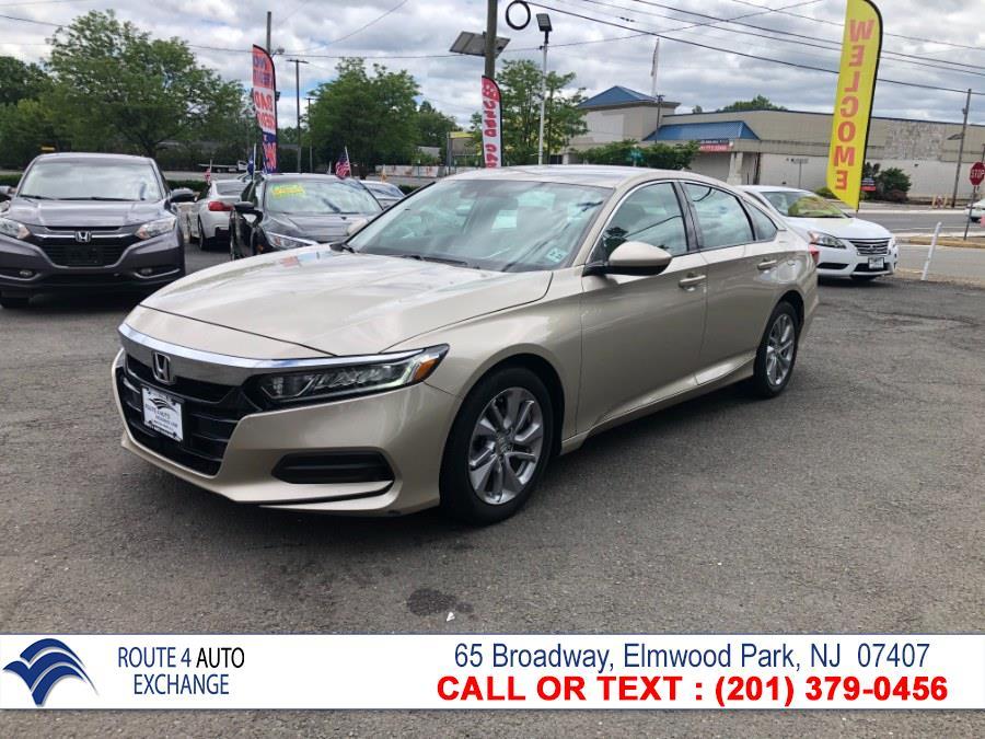 Used Honda Accord Sedan LX 1.5T CVT 2018 | Route 4 Auto Exchange. Elmwood Park, New Jersey