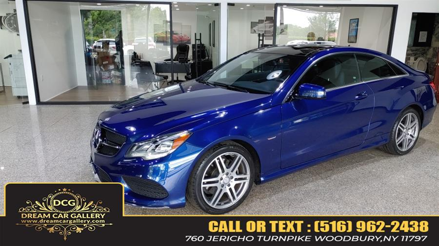 Used Mercedes-Benz E-Class E 400 4MATIC Coupe 2017   Dream Car Gallery. Woodbury, New York