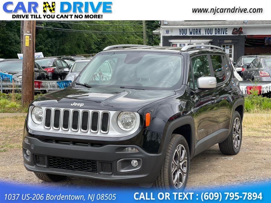 Used Jeep Renegade LIMITED 2015 | Car N Drive. Bordentown, New Jersey