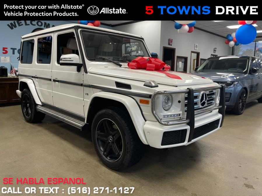 Used Mercedes-Benz G-Class AMG PACKAGE G 550 4MATIC SUV SPORT AMG PACKAGE 2017   5 Towns Drive. Inwood, New York