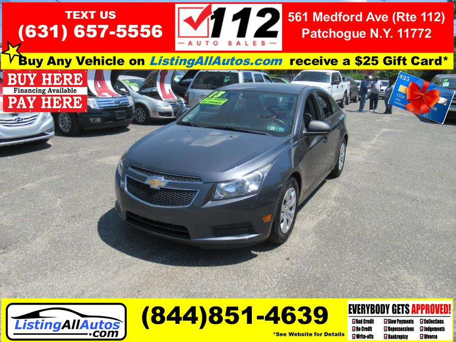 Used 2013 Chevrolet Cruze in Patchogue, New York   www.ListingAllAutos.com. Patchogue, New York