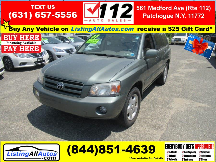 Used 2007 Toyota Highlander in Patchogue, New York   www.ListingAllAutos.com. Patchogue, New York