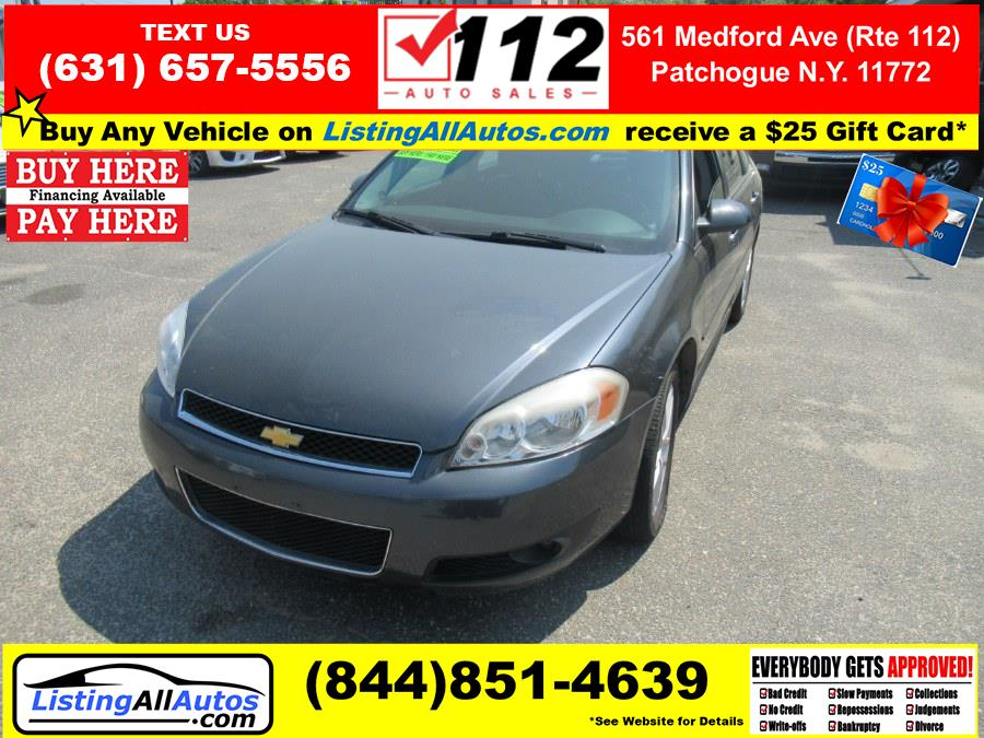 Used 2012 Chevrolet Impala in Patchogue, New York   www.ListingAllAutos.com. Patchogue, New York