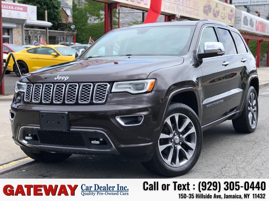 Used Jeep Grand Cherokee Overland 4x4 2017   Gateway Car Dealer Inc. Jamaica, New York
