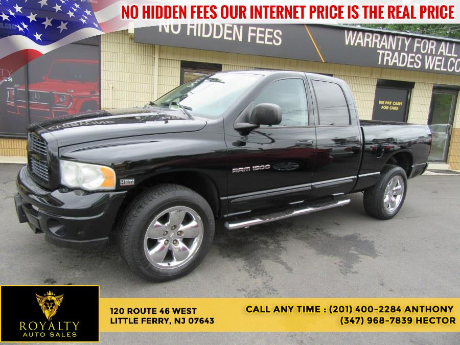 """Used Dodge Ram 1500 4dr Quad Cab 140.5"""" WB 4WD SLT 2004 