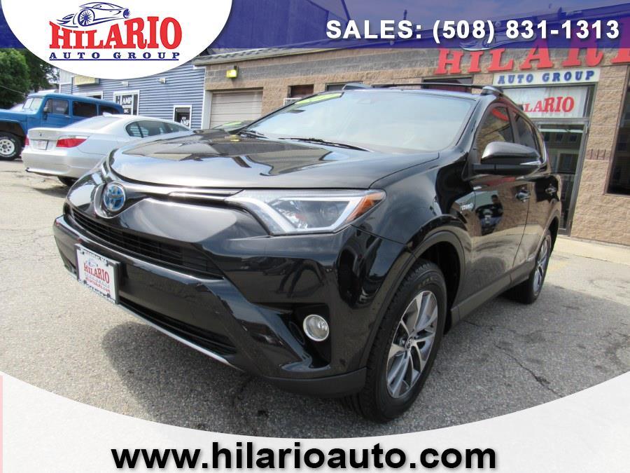Used 2017 Toyota RAV4 Hybrid in Worcester, Massachusetts | Hilario's Auto Sales Inc.. Worcester, Massachusetts