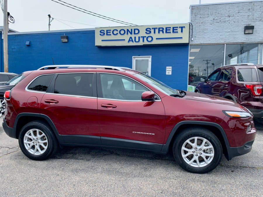 Used 2018 Jeep Cherokee in Manchester, New Hampshire | Second Street Auto Sales Inc. Manchester, New Hampshire