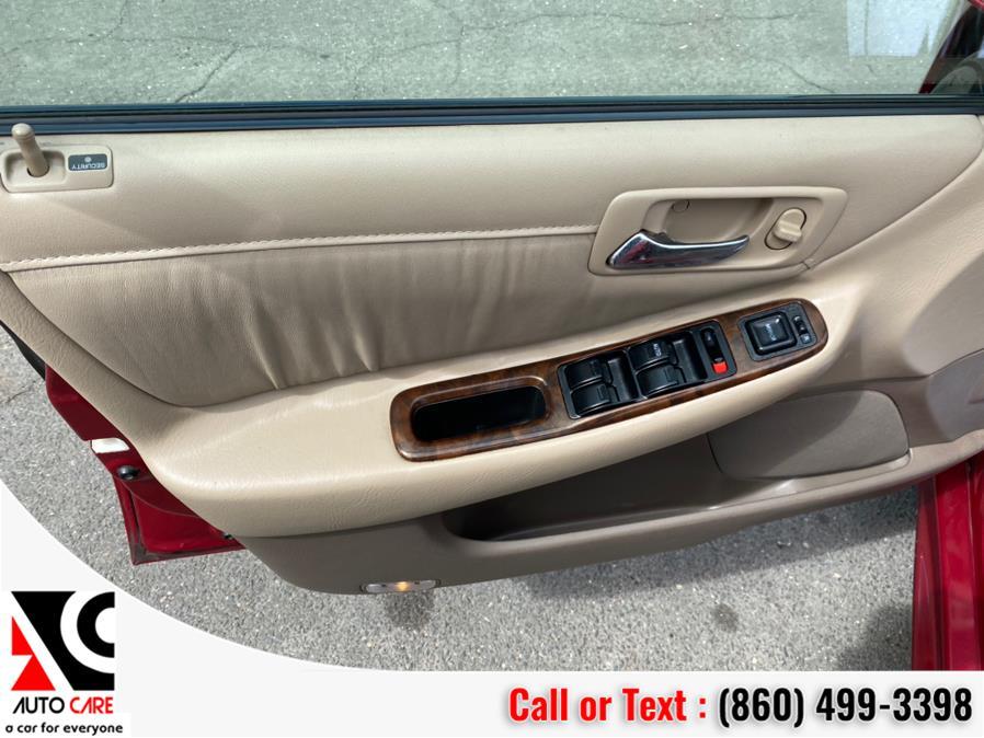 Used Honda Accord Sdn EX Auto V6 w/Leather 2002   Auto Care Motors. Vernon , Connecticut